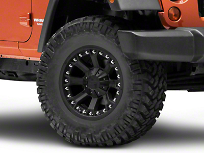 Pro Comp Series 7033 Flat Black Wheel - 17x9 (07-18 Wrangler JK)