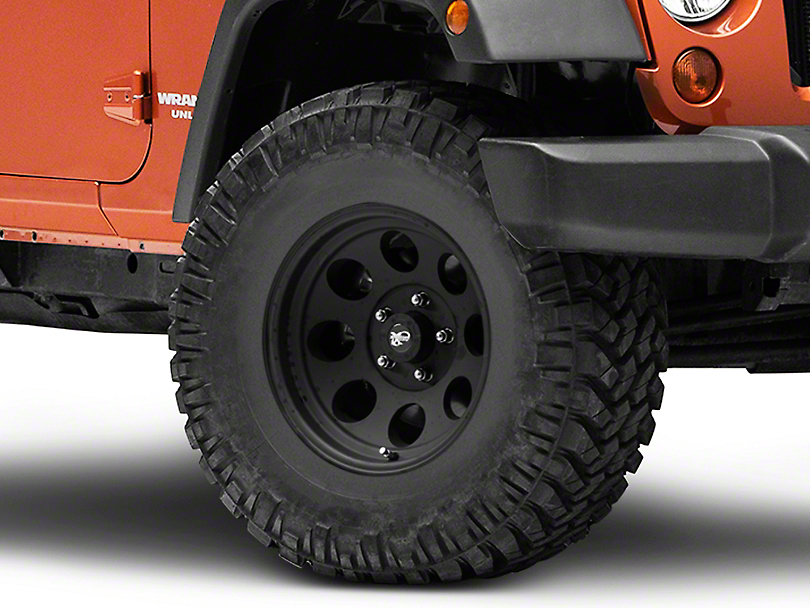 Pro Comp Alloy Series 7069 Flat Black Wheel - 16x8 (07-18 Wrangler JK; 2018 Wrangler JL)