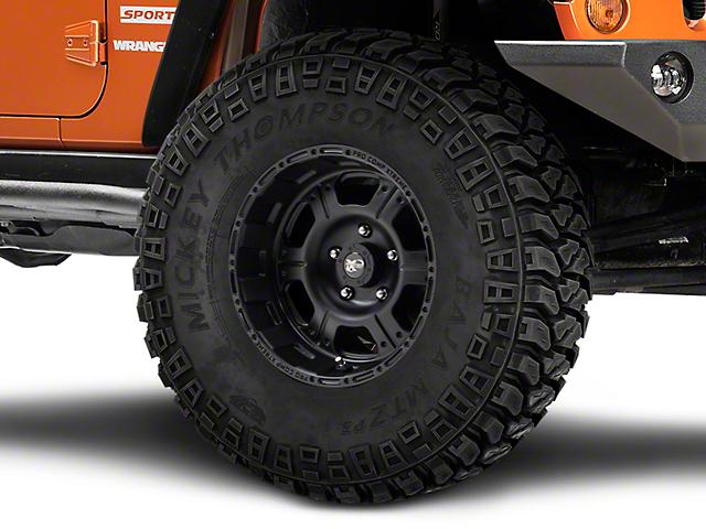 Pro Comp Wheels Series 7089 Flat Black Wheel; 16x8 (07-18 Jeep Wrangler JK)
