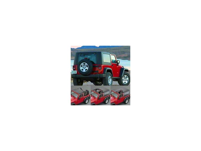 Mopar Factory Freedom Hardtop (07-18 Jeep Wrangler JK 2 Door)