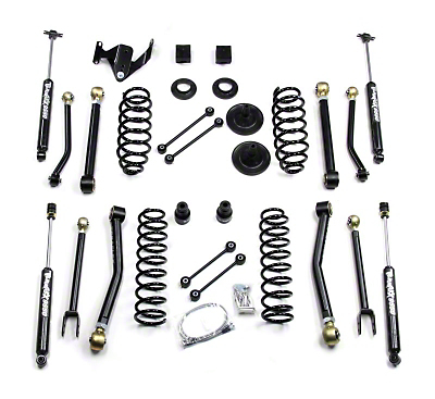 Teraflex 3 in. Lift Kit w/ Flex Arms w/ Shocks (07-17 Wrangler JK 2 Door)