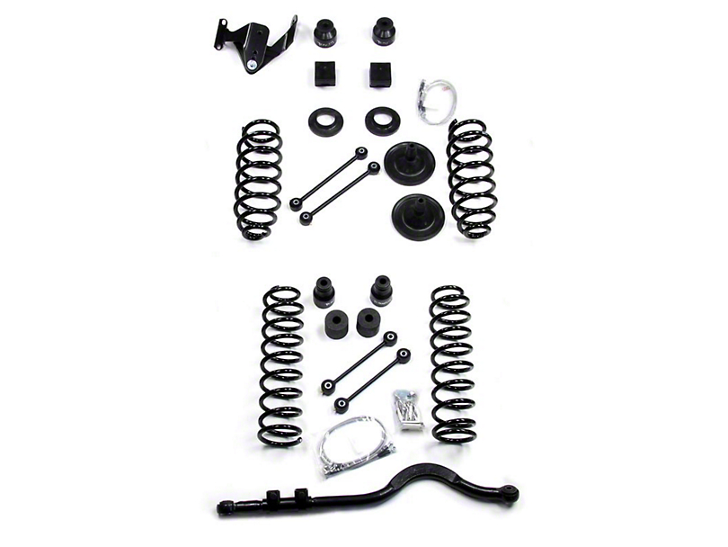 Teraflex 4 in. Lift Kit w/o Shocks (07-18 Wrangler JK 2 Door)