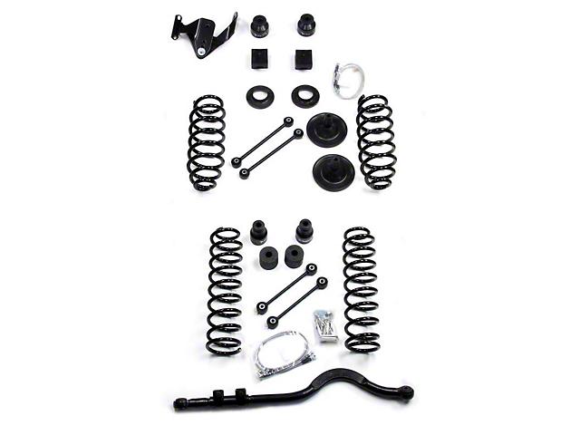 Teraflex 4 in. Lift Kit w/o Shocks (07-18 Jeep Wrangler JK 2 Door)