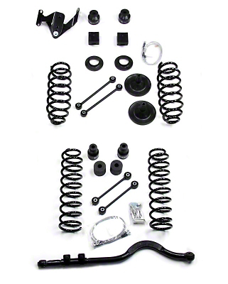 Teraflex 4 in. Lift Kit w/o Shocks (07-18 Wrangler JK 2 Door)