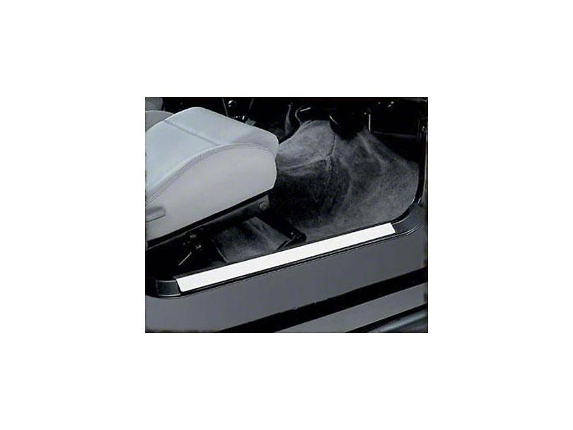 Smittybilt Entry Guards - Stainless Steel (97-06 Jeep Wrangler TJ)