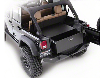 Smittybilt Security Storage Vault - Rear Lockable Storage Box (87-06 Wrangler YJ & TJ)