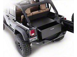 Smittybilt Security Storage Vault - Rear Lockable Storage Box (87-06 Jeep Wrangler YJ & TJ)