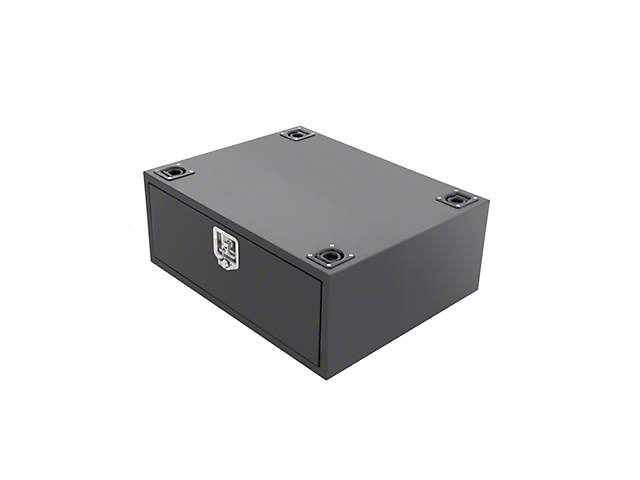 Smittybilt Security Storage Vault - Rear Lockable Storage Box (07-18 Wrangler JK)