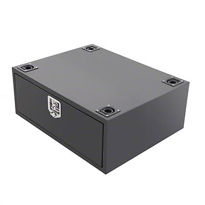 Smittybilt Security Storage Vault - Rear Lockable Storage Box (07-18 Jeep Wrangler JK)