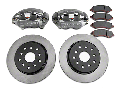 Teraflex Front Big Brake Kit w/ 13.3 in. Vented Rotors (07-18 Wrangler JK)