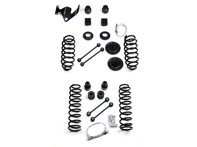 Teraflex 3 Inch Lift Kit w/o Shocks (07-18 Jeep Wrangler JK 2 Door)