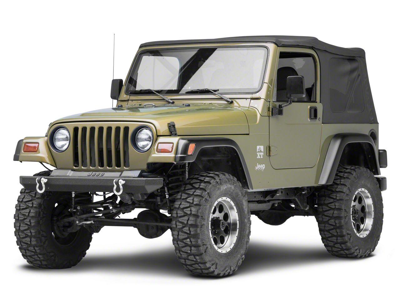 Smittybilt SRC Rock Crawler Classic Front Bumper w/ D-Rings (87-06 Jeep Wrangler YJ & TJ)