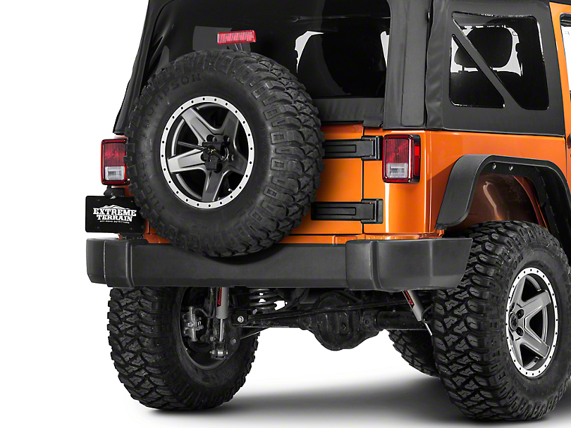 Smittybilt SRC Oversize Tire Carrier (07-18 Jeep Wrangler JK)