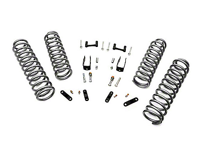 Rough Country 2.5 in. Suspension Lift w/ Coils & Brackets w/o Shocks (07-18 Wrangler JK 2 Door)