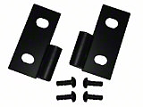 Smittybilt Lower Door Hinge Brackets - Black (87-06 Wrangler YJ & TJ)