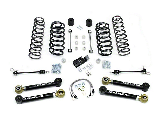 Teraflex 4 in. Lift Kit w/o Shocks (97-06 Jeep Wrangler TJ)