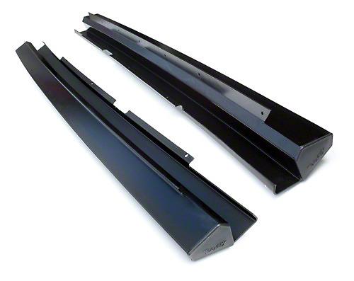 Teraflex Rock Slider KIT NO PAINT (07-18 Wrangler JK 2 Door)
