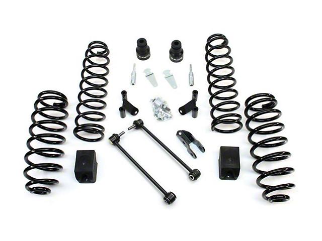 Teraflex 2.5 in. Lift Kit w/o Shocks w/ Adapters (07-18 Jeep Wrangler JK 2 Door)