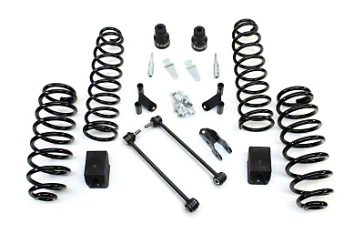 Teraflex 2.5 in. Lift Kit w/o Shocks w/ Adapters (07-18 Jeep Wrangler JK 2 Door)