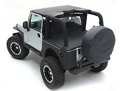 Smittybilt Standard Top - Black Denim (87-91 Jeep Wrangler YJ)
