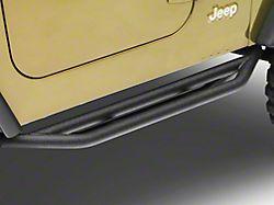 Smittybilt SRC Side Armor; Textured Black (87-06 Jeep Wrangler YJ & TJ)