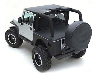 Smittybilt Standard Top - Black Diamond (97-06 Jeep Wrangler TJ)