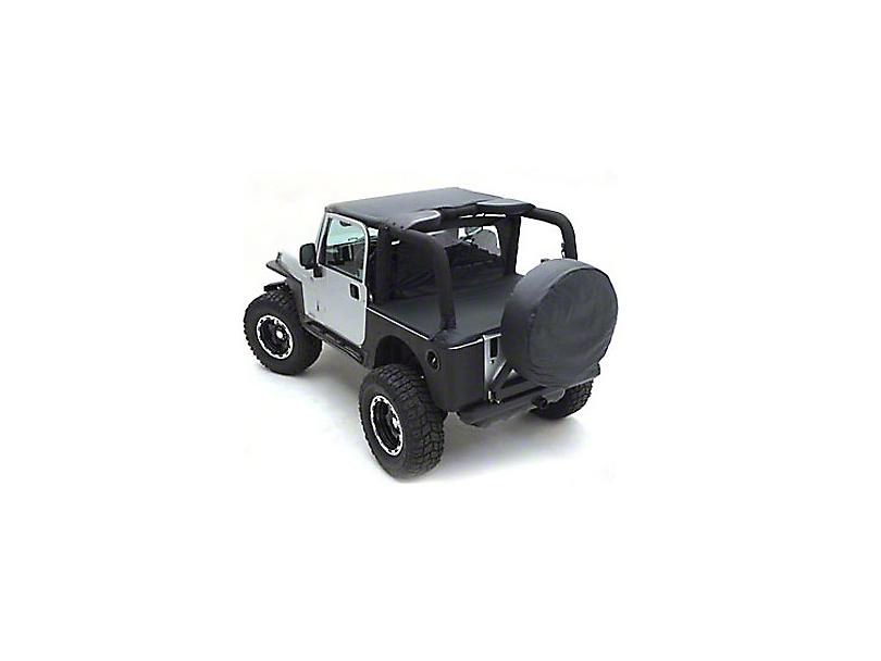 Smittybilt Standard Top - Black Diamond (97-06 Jeep Wrangler TJ)