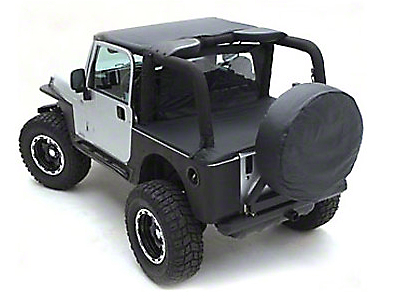 Smittybilt Standard Top - Black Diamond (97-06 Wrangler TJ)