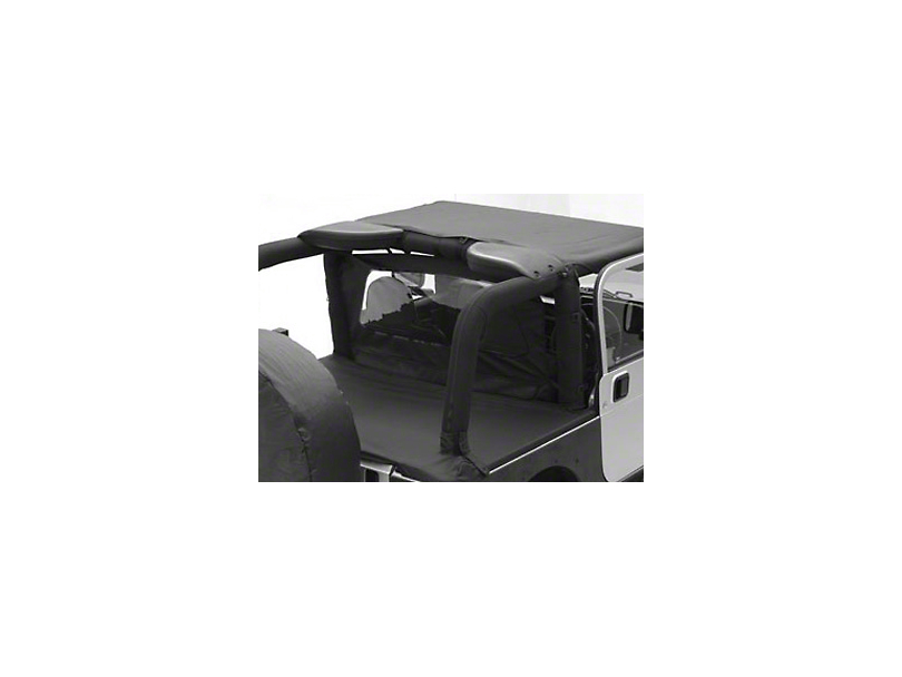 Smittybilt Tonneau Cover - Black Diamond (07-18 Wrangler JK 4 Door)
