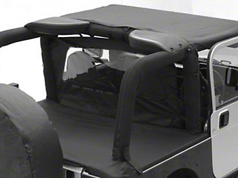 Smittybilt Tonneau Cover - Black Diamond (07-17 Wrangler JK 4 Door)