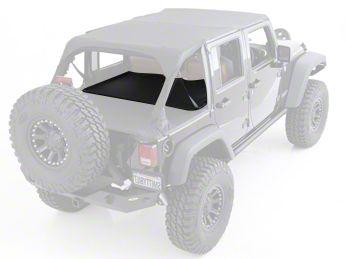 Smittybilt Tonneau Cover Extension - Black Diamond (07-18 Jeep Wrangler JK 4 Door)