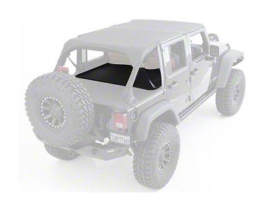 Smittybilt 90335 Black Diamond Wind Breaker for select Jeep Wrangler JK 4 Door