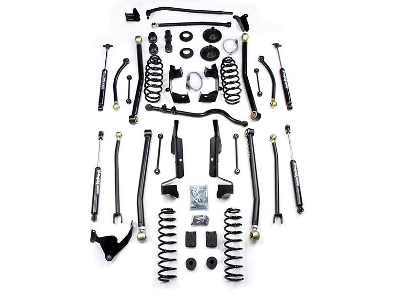 Teraflex 6 in. Elite LCG Long Arm Suspension System w/o Shocks (07-18 Jeep Wrangler JK 2 Door)