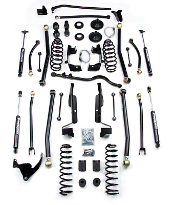Teraflex 6 in. Elite LCG Long Arm Suspension System w/o Shocks (07-18 Jeep Wrangler JK 2 Door)