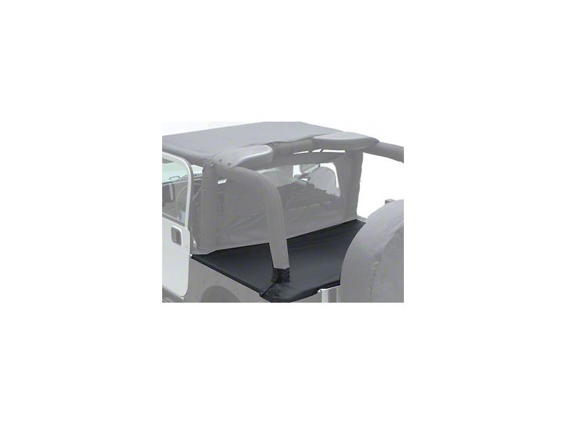 Smittybilt Tonneau Cover for OEM Soft Top w/ Channel Mount - Black Diamond (97-06 Jeep Wrangler TJ)