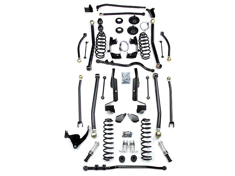 Teraflex 6 in. Lift Kit w/o Shocks (07-18 Jeep Wrangler JK 2 Door)