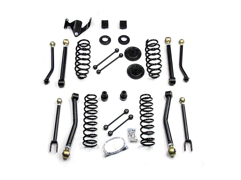 Teraflex 3 in. Lift Kit w/ Flex Arms w/o Shocks (07-17 Wrangler JK 2 Door)