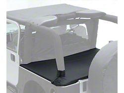 Smittybilt Tonneau Cover for OEM Soft Top w/ Channel Mount - Black Diamond (04-06 Jeep Wrangler TJ Unlimited)