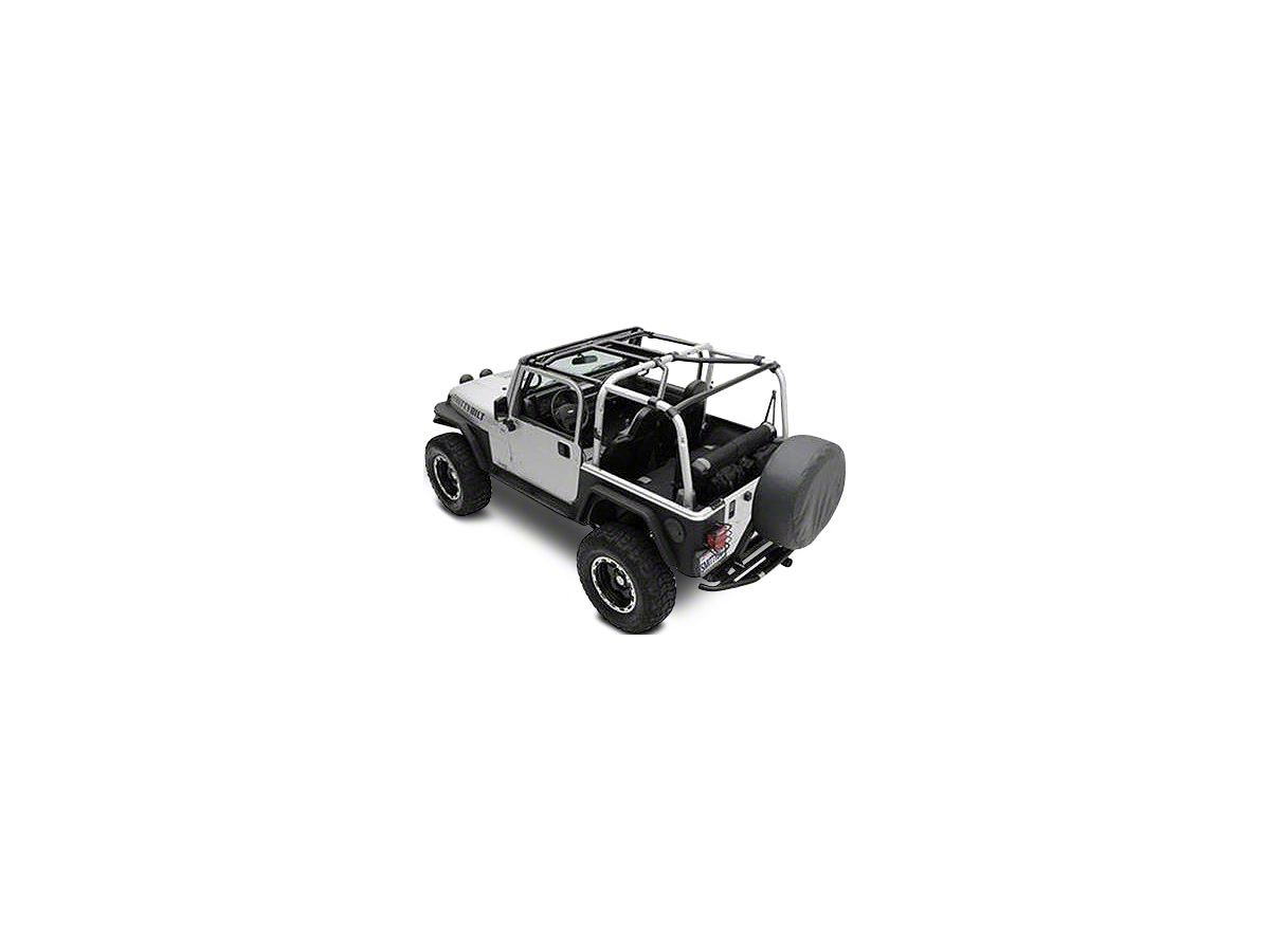 Smittybilt 76901 SRC Cage Kit for Jeep JK 2-Door 6 Piece