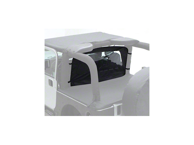 Smittybilt Wind Breaker - Denim Spice (87-06 Jeep Wrangler YJ & TJ)