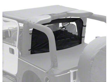 Smittybilt Wind Breaker - Black Diamond (87-06 Jeep Wrangler YJ & TJ)