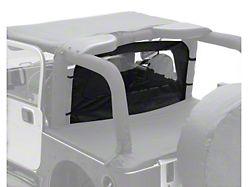 Smittybilt Wind Breaker; Black Diamond (87-06 Jeep Wrangler YJ & TJ)