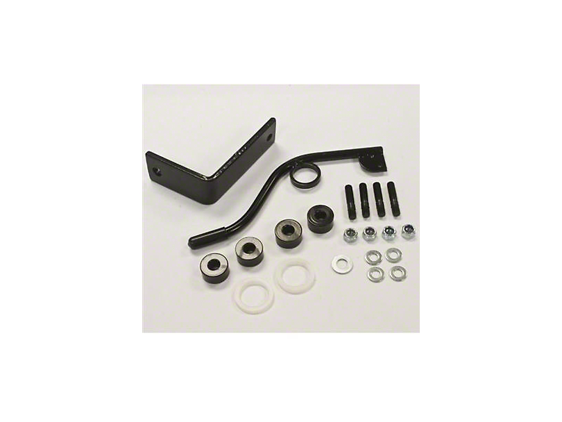 Smittybilt Seat Adapters - Front Driver side (03-06 Wrangler TJ)