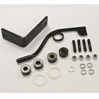 Smittybilt Seat Adapters - Front Driver side (03-06 Jeep Wrangler TJ)
