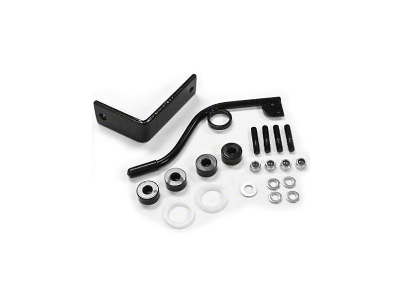 Smittybilt Seat Adapters - Front - Passenger side (03-06 Jeep Wrangler TJ)