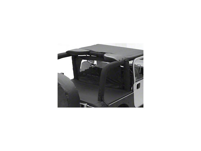 Smittybilt Outback Wind Breaker - Black Diamond (07-18 Wrangler JK 2 Door)