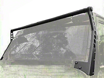 Smittybilt XRC Light Bar - Textured Black (97-06 Wrangler TJ)