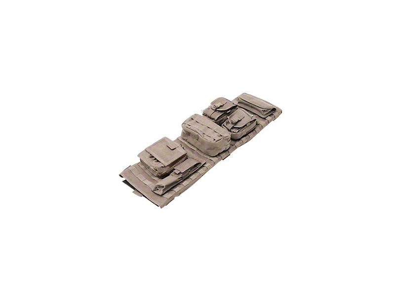 Smittybilt GEAR Overhead Console - Coyote Tan (97-06 Wrangler TJ)