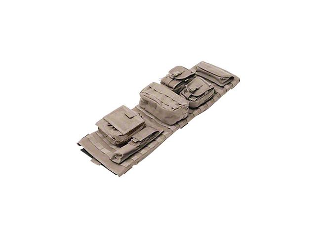 Smittybilt GEAR Overhead Console; Coyote Tan (97-06 Jeep Wrangler TJ)