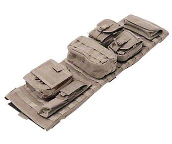 Smittybilt GEAR Overhead Console - Coyote Tan (97-06 Jeep Wrangler TJ)